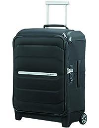 SAMSONITE Flux Soft - Upright 55/20 w/ Top Pocket Equipaje de mano, 55 cm, 39.5 liters, Negro (Black)