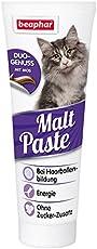Malt-Paste - 250g - Zusatzfutter Leckerlie Haarballen Katzen Pflege