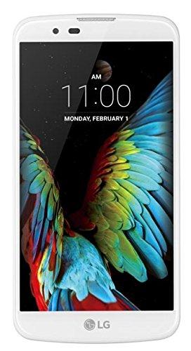 "LG K10 4G (K420N) SIM única 4G 16GB Blanco - Smartphone (13,5 cm (5.3""), 16 GB, 13 MP, Android, 74.8, Blanco)"