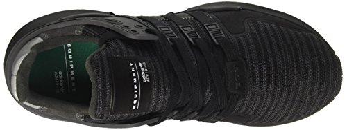 Adidas Equipment Support Adv, Baskets Basses Athlétiques Homme Noir (core Black / Noir Utilitaire / Dgh Solid Grey)
