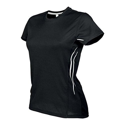 Kariban Proact - T-shirt sport - Femme Blanc/Argent