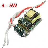 Driver 4-5W LED una fuente de alimentación de corriente constante para bombilla 85-277V