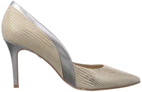 Buffalo London - Zs 4011-14 Mini Lezard, Scarpe col tacco Donna Multicolore (Mehrfarbig (PEWTER 30))