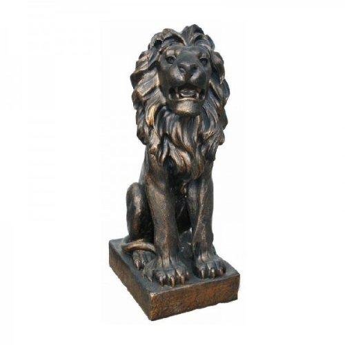 Große Löwen in Antik Bronze-Optik – 2er SET ca 75 cm