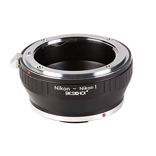 Beschoi Nikon-Nikon 1 Objektiv Adapter für Nikon-F AI Objektiv auf Nikon-1 S-Serie Systemkamera Nikon 1 S1 S2 J-Serie J1 J2 J3 J4 J5 V-Serie V1 V2 V3 AW-Series -
