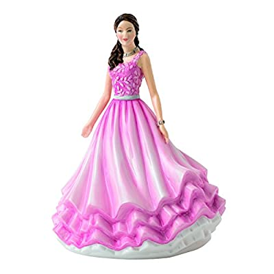 Royal Doulton Pretty Lady Figure Love and Laughter Part of the New Sentiments Range 2016 - HN 5824