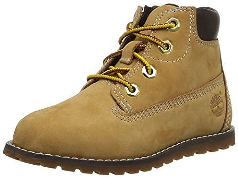 Timberland Pokey Pine 6in, Unisex Kids' Ankle Boots, Beige (Wheat), 9 Child UK (26.5 EU)