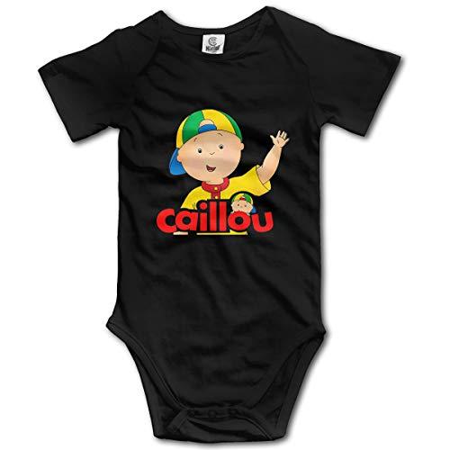 Louis Berry Caillou, Baby Kurzarm Strampler Baby Body Neugeborenen Overall Strampler Sleeper Pyjamas Pjs