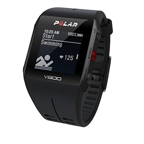 Polar V800 Unisex GPS Multi-Sports Watch with HR – Black