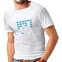 T-shirt da uomo Vintage pc Maniacs regali gamer divertenti camicie gamer divertenti