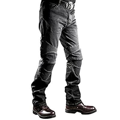 Men's and Women's Motorbike Motorcycle Denim Trousers Jeans with CE Approved Armours