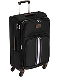 128480fd6e Tommy Hilfiger Polyester 67 cms Black Softsided Check-in Luggage  (TH/DAY01065 02