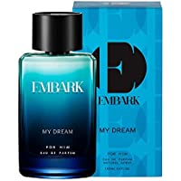 EMBARK My Dream for Him Men's Perfume, 100ml Long Lasting Smell Woody, Marine All-Day Fragrance for Indian Skin