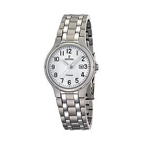 Reloj de mujer FESTINA F16461/1 de cuarzo, correa de titanio de FESTINA