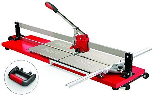 Die Fliesenschneidemaschine 201132Schnitt kariert, rot, 900mm