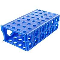 Caja de puntas de pipeta de pipeta Suministros de laboratorio rectangulares Azul 48 Posición 1pcs