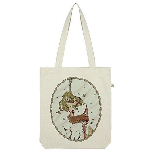 TWISTED ENVY Zombie Meerjungfrau Tasche Weiß weiß (Meerjungfrau Zombie)