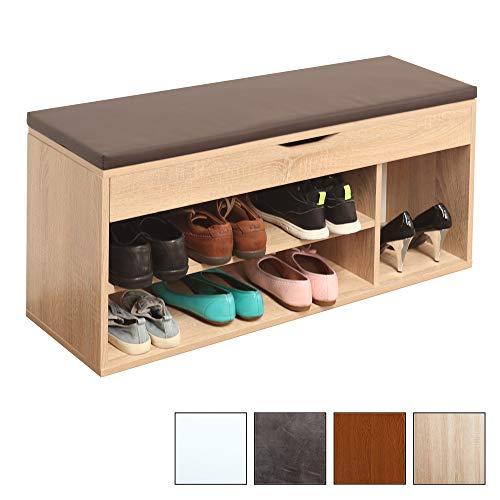 Kissen Gartenmöbel Gartenbox Truhe Box Stilista Gartentruhe aus FSC Holz inkl