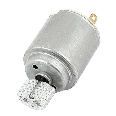 SODIAL(R) DC 1.5-6V 18700RPM 20mm Diameter Massager Vibration Micro-Motor R140