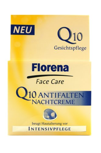 Florena Face Care Q10 Antifalten Nachtcreme 50ml