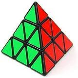 Creation® Shengshou la pirámide del triángulo Pyraminx velocidad cubo mágico toque de Puzzle juguete del juego de la Educación - Negro
