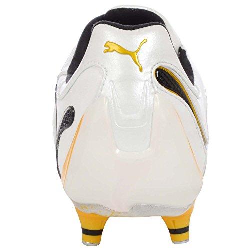 Puma PowerCat 1.10 SG SCHWARZ 10189707 - Blanc/jaune