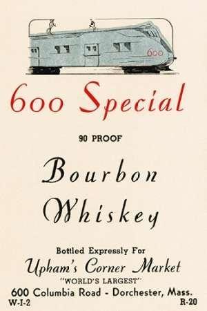 Feelingathome-Leinwand-Bild-600-Sonder-Bourbon-Whiskey-cm96x62-Kunstdruck-auf-Leinwand