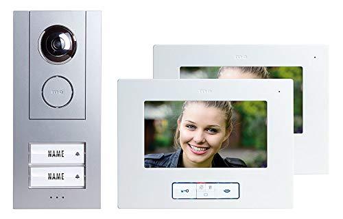 Video-Türsprechanlage Kabelgebunden Komplett-Set m-e modern-electronics Vistus VD 6720 2 Familienha