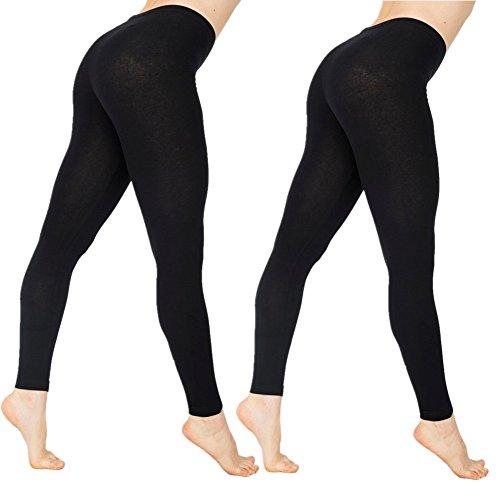 Skhls Legging Femme Pantalon Longueur de Sport Yoga Fitness Gym 2 Leggings Moir