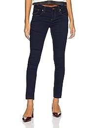 Amazon Brand - Symbol Women's Low Waist Skinny Jeans