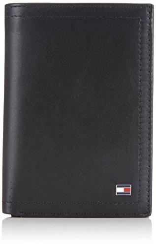 Tommy Hilfiger Harry N/S Wallet W/Coin Pocket, Portafoglio Uomo, Nero (Nero (Black 990)), 13x9x2 cm (B x H x T)