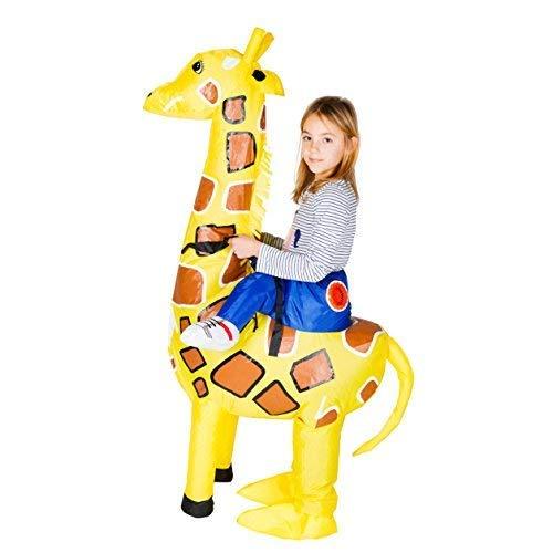 Bodysocks® Aufblasbares Giraffe Kostüm für Kinder (Für Kinder Aufblasbare Kostüme)