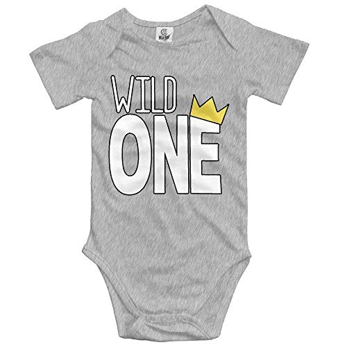 Baby Wild One Unisex Toddler Bodysuit Summer Short Sleeves Romper Jumpsuits Gap Short Sleeve Romper