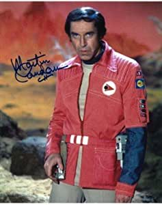 Martin Landau (Space 1999, Mission Impossible, X Files) - VERY RARE - Genuine Signed Autograph