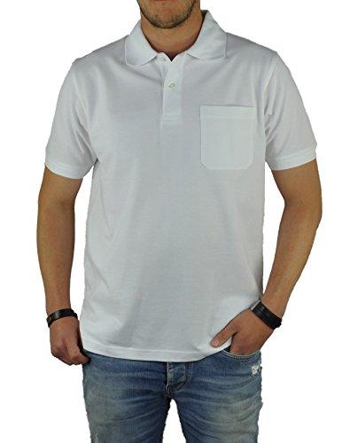 KITARO - Herren Poloshirt in verschiedenen Farben (68800) White (600)