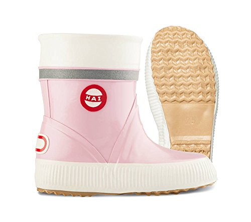 NOKIAN  Hai K, Work Wellingtons fille Rose