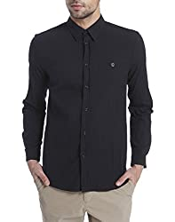 Jack & Jones Men Casual Shirt 5713230224409_Black_L