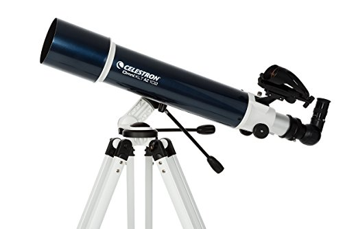 Celestron 22152-cgl 102mm Omni XLT az–Telescopio reflector negro/blanco