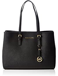 Michael KorsJet Set Travel Saffiano Leather Tote - Bolsa de Asa Superior Mujer