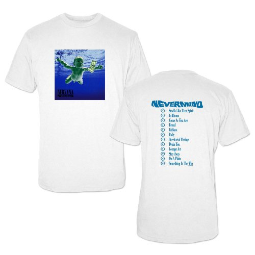 NIRVANA - NEVERMIND T-Shirt Weiß