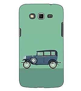 Fuson Designer Back Case Cover for Samsung Galaxy Grand Neo I9060 :: Samsung Galaxy Grand Lite (Vintage car theme)