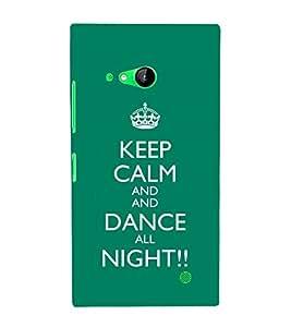 Ebby Printed back cover for Nokia Lumia 730(Premium Designer case)