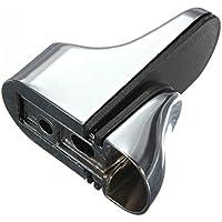 Regalhalter Halterung - SODIAL(R)1 Stueck Metall Entenschnabel Justierbarer Halteklammer fuer Glas oder Holz Regale (glaenzend)