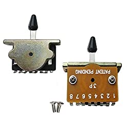 3 Way Pickup Selector Switch For Fender Telecaster Electric Guitars - Black Tip