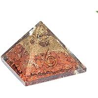 Crocon Rot Jasper Edelstein Energetische Pyramide Kristall Point Energie Generator für Chakra Balancing Reiki... preisvergleich bei billige-tabletten.eu