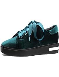 MANCAPANE Fashion Sneakers Donna 40 EU Verde Tessuto