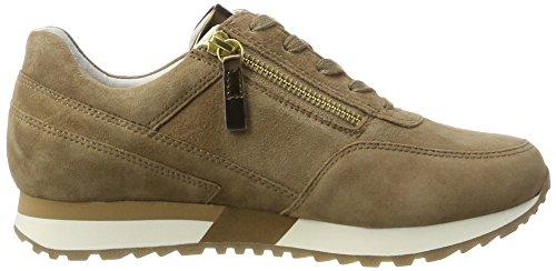 Gabor Shoes Comfort, Scarpe da Ginnastica Basse Donna Marrone (walnut/altmessing 43)