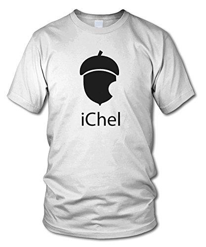 shirtloge - iChel - FUN T-Shirt - KULT - in verschiedenen Farben - Größe S - XXL Weiß