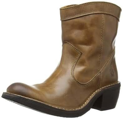 Fly London Women's Foin Cowboy Boots P210784005 Camel 3 UK, 36 EU