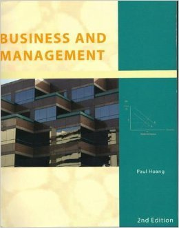 International Baccalaureate Business and Management by Paul Hoang (2011-10-01)